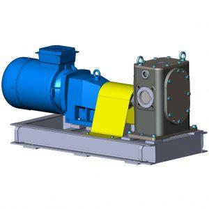 Насосный агрегат шестеренный НМШГ 120-10 для вязких и легкозастывающих жидкостей