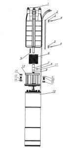 Типовая схема агрегатов3ЭЦВ6,8,10,12